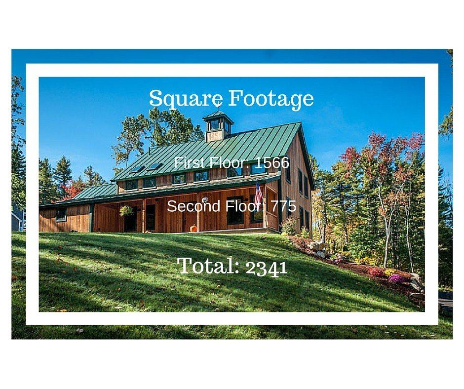 Proctor Farmhouse Sq Footage