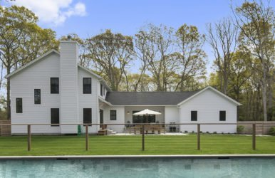 East Hampton Contemporary Hybrid Timber Frame Barn Home