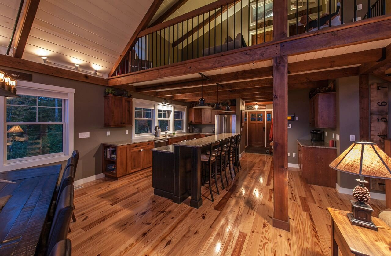 Small barn home wins big award for Maine post and beam kits