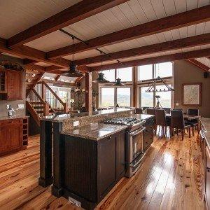 Moose Ridge Lodge Kitchen