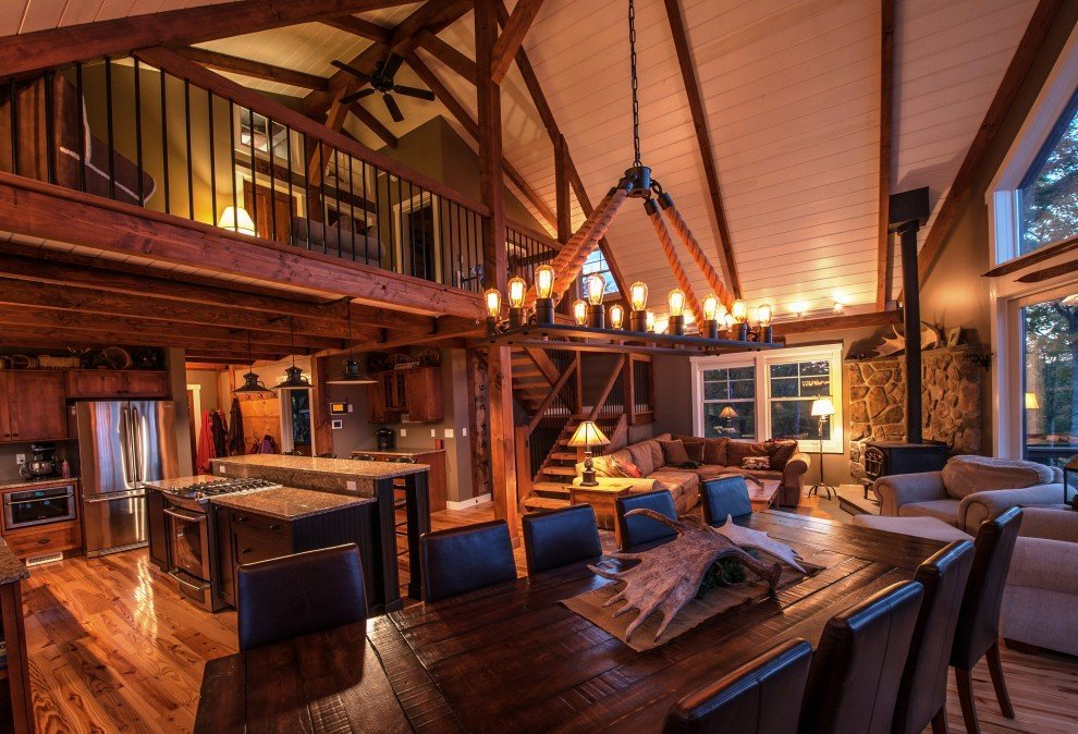 Small barn home wins big award for Barn house plan