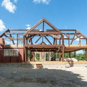 wellington post and beam farme - Shell Homes