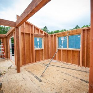 Post and Beam w/ Wall Panels