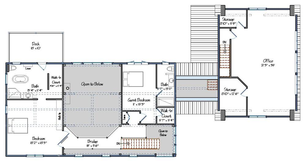 Bancroft Level Two Floor Plan