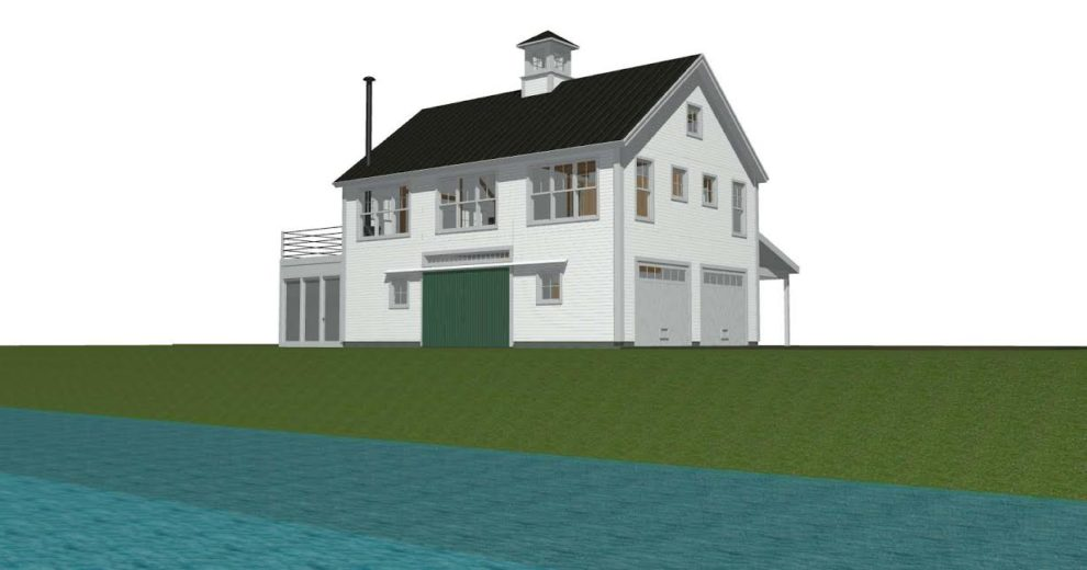 The First Of 3 New Barn Houses From 1 Existing Plan