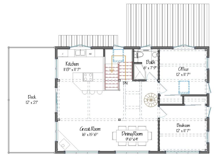Norwich Floor Plan Main Level