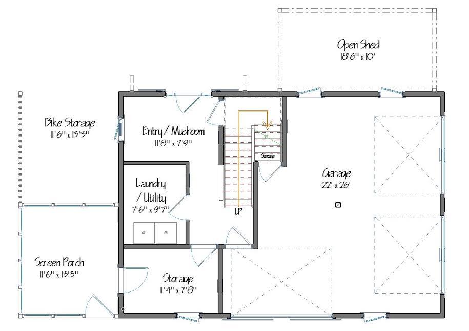 Norwich Floor Plan Lower Level