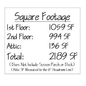 Norwich Square Footage