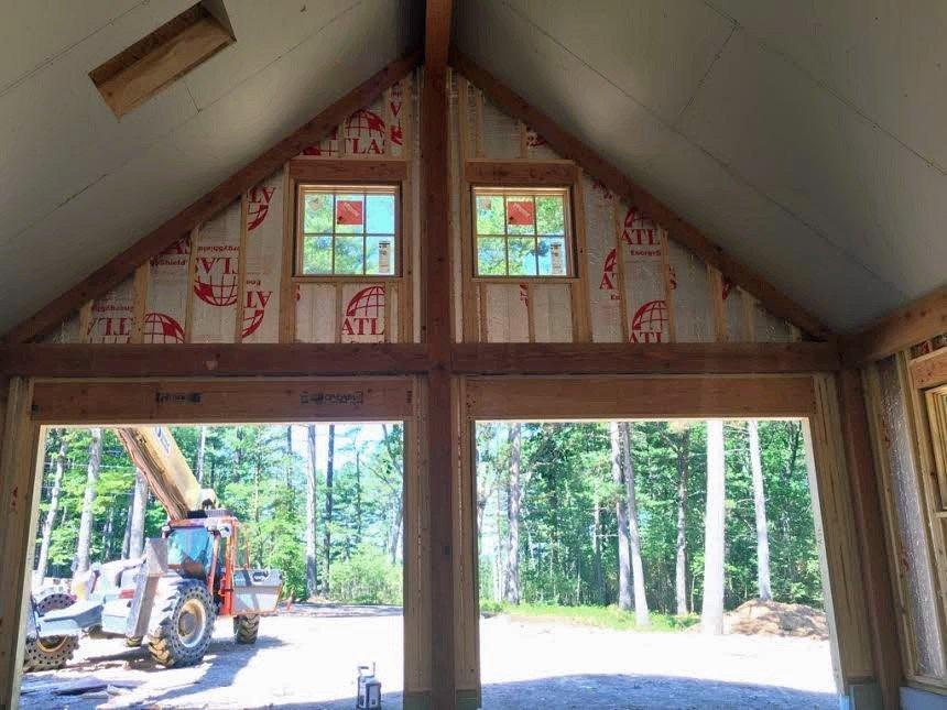 Garage Interior Construction