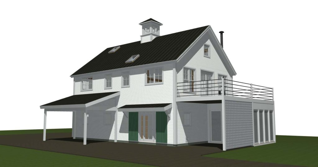 Norwich yankee barn homes for Post and beam carriage house plans