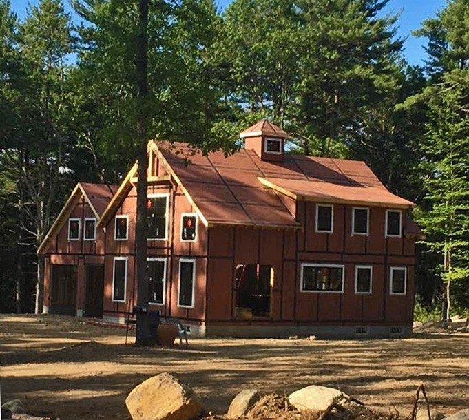 Walden Pond Side Construction