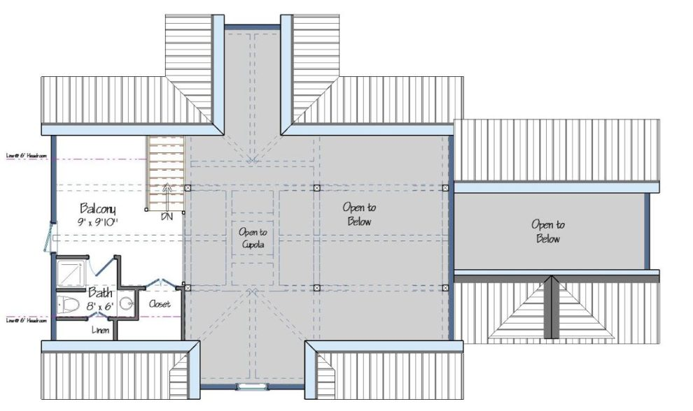 Downing Level Two Floor Plan