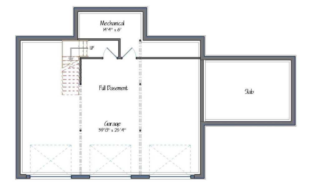 Downing Lower Level/ Garage