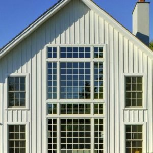 Laurel Hollow Over-Sized Windows