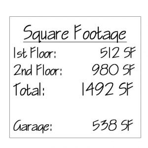 Spruceton Square Footage