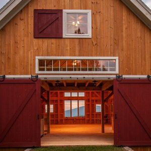 Sutton Barn Transom