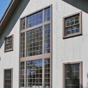 Tate Barn Exterior Window Wall