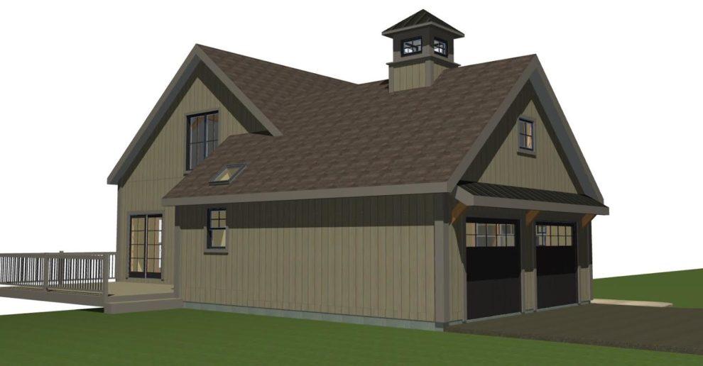 Small Barn House: New YBH Home Plans
