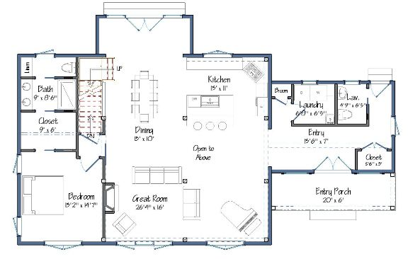 Downing Barn House Layout Preview