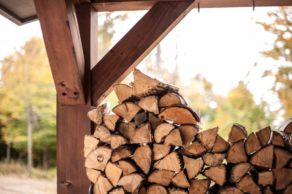 Moose Ridge Lodge Woodpile