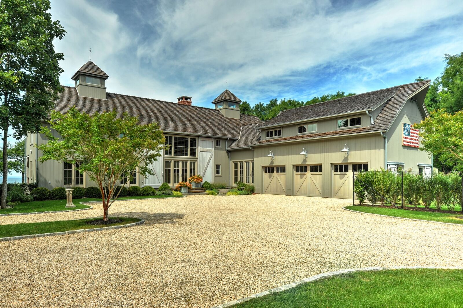 Stunning new barn house the southold is finished for Barnhouse builders