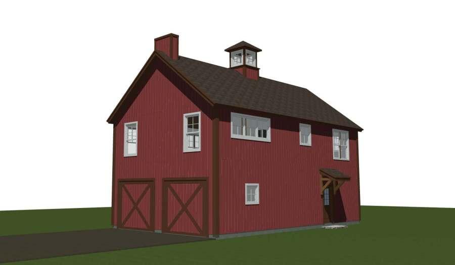 Spruceton Yankee Barn Homes