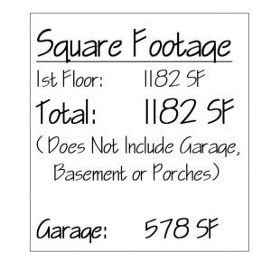 Dunbar Hill Cottage Square Footage