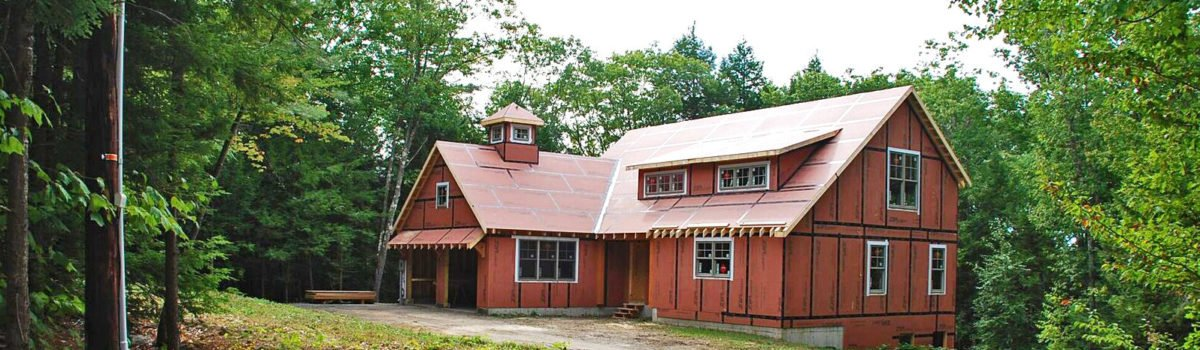 Eastman House Small Barn Home Const.
