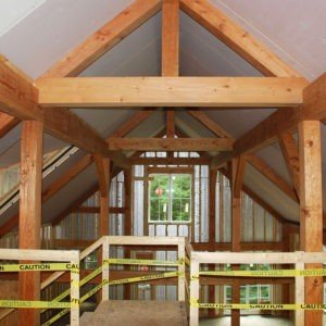 Small barn home eastman house update for Small post and beam house plans