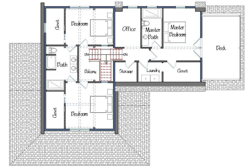 Farmhouse plan mainstreet farmhouse progress for Main street homes floor plans