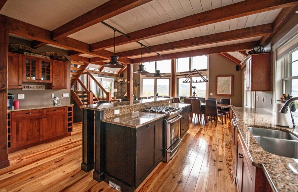 Moose Ridge Kitchen Island