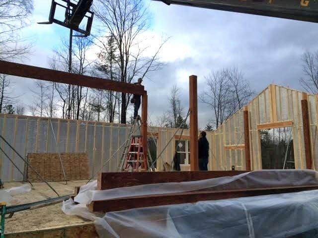 Dunbar Hill Cottage Construction