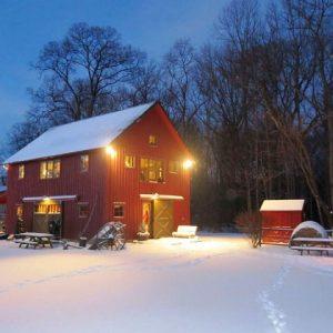 Edgewater Winter Night