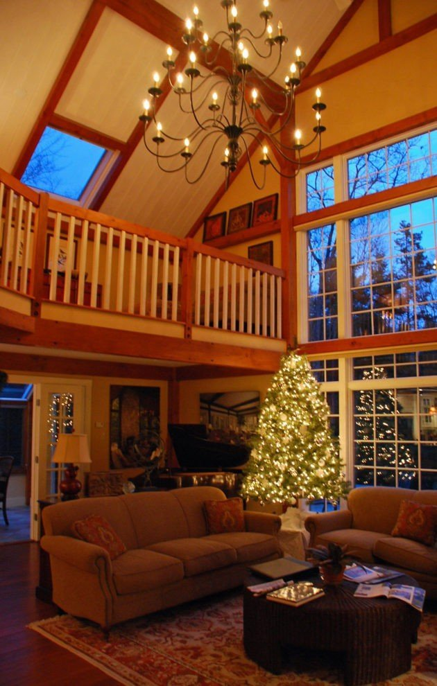 Gathering House Great Room Christmas Tree