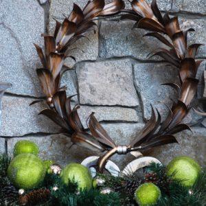 Gathering House Holiday Mantle Close-Up