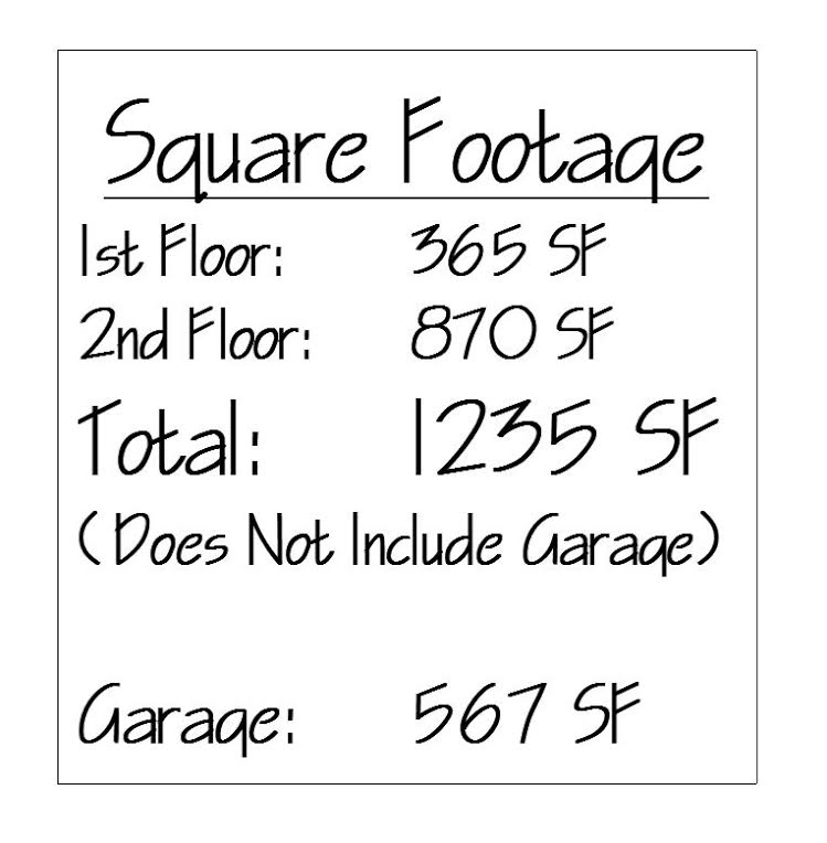 Old French CH Square Footage