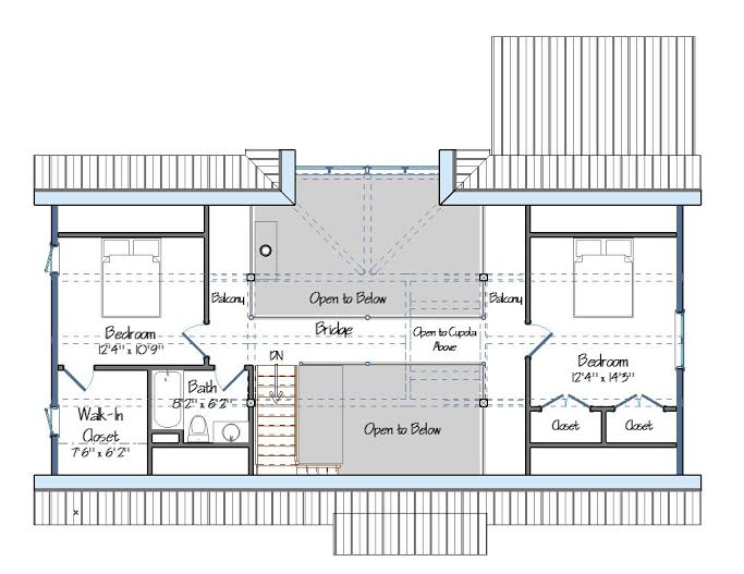The Cabot Barn House One Foot Print Three Floor Plan Sizes
