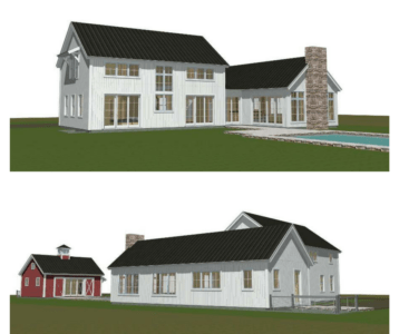 Contemporary Barn House Plans