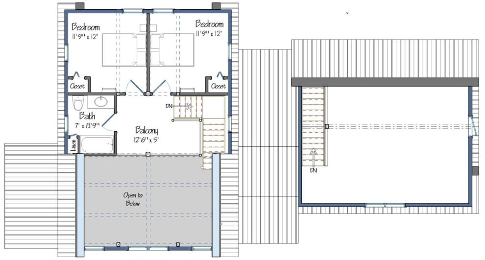 Huntington Lodge Level Two Foor Plan