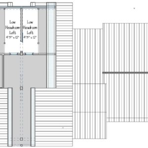 Huntington Lodge Loft Plan