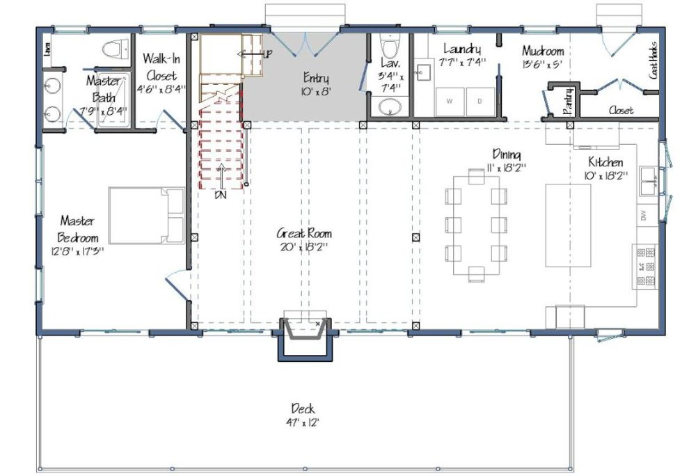 Tullymore Level One Floor Plan