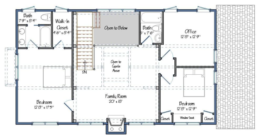 Tullymore Level Two Floor Plan