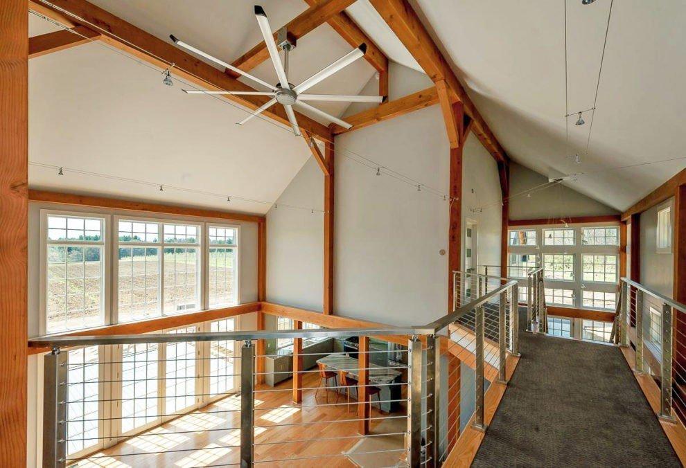 Bancroft Barn Two Story Family Room