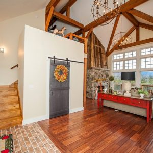 Cabot Barn Two Story Entry