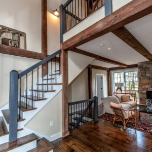 Grantham Lakehouse Two Story Entry