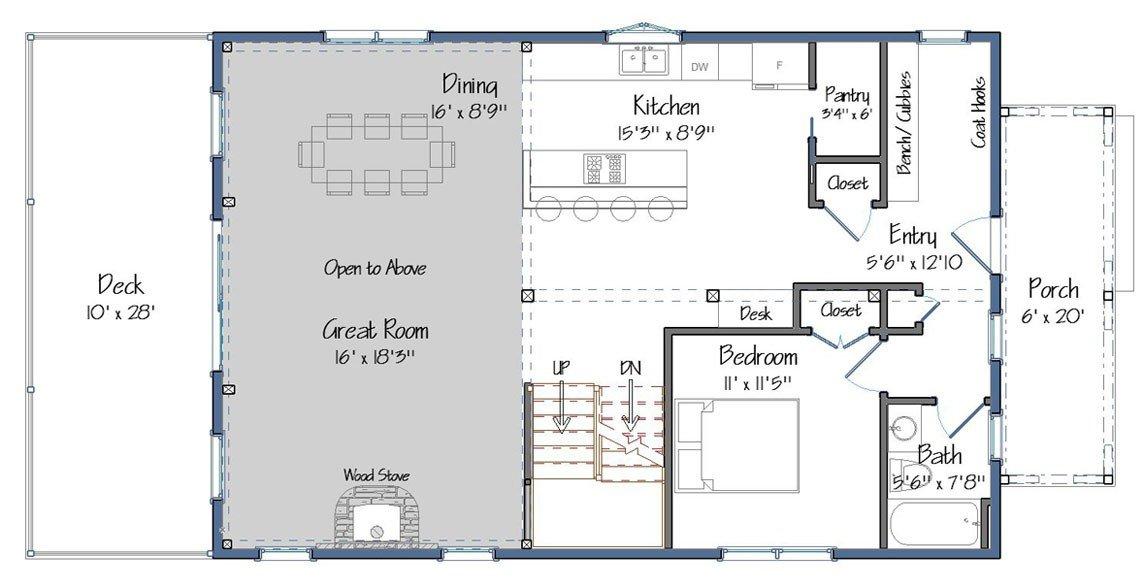 Mason Barn Home on Masonic Lodge Floor Plan