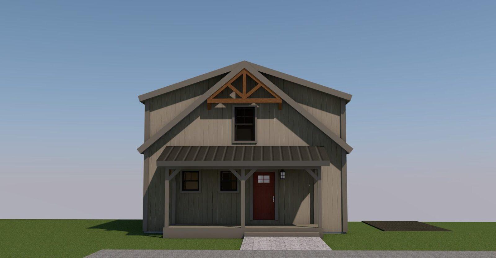 Mason Barn Home Front