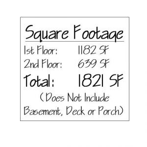 The Mason Square Footage