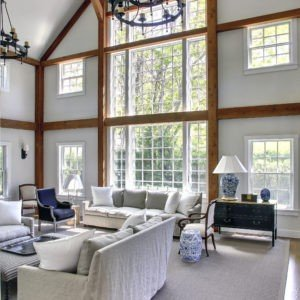 Tate Barn Two Story Family Room