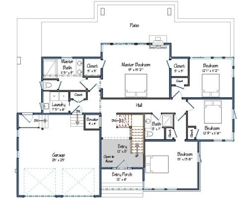 The Montauk Floor Plan Preview